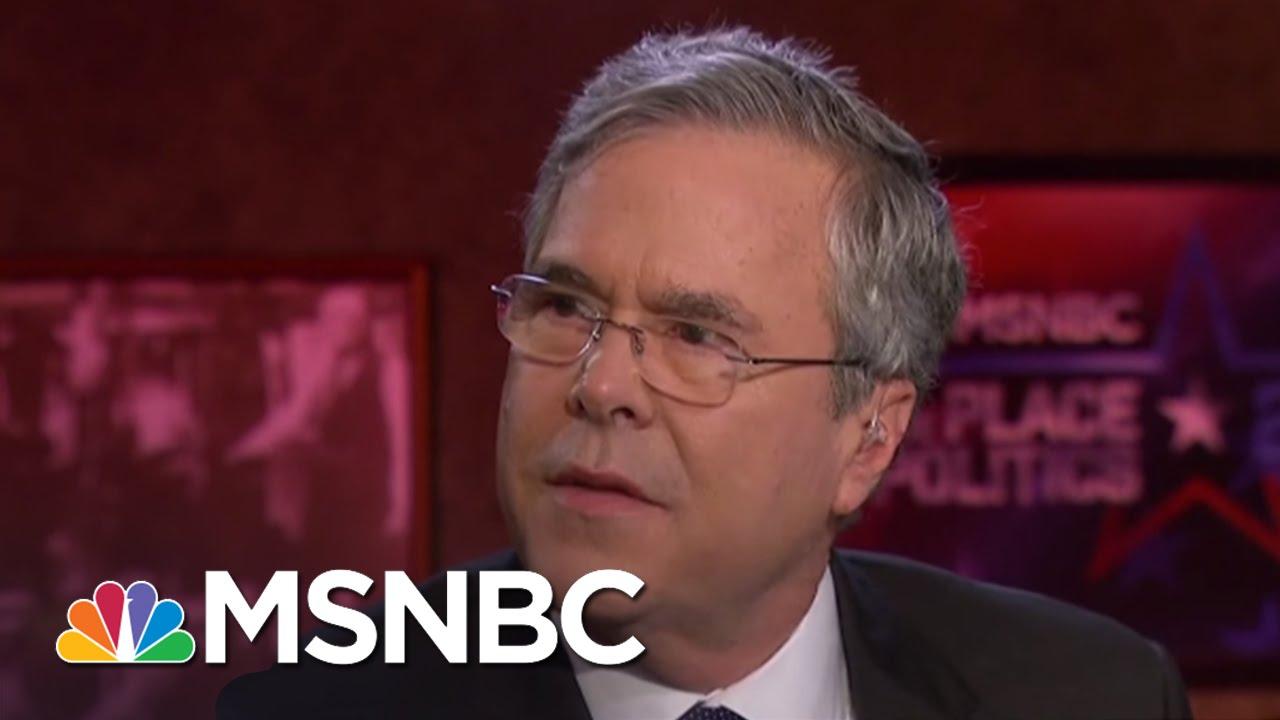 Jeb Bush: Rubio Gifted But Has No Record | Morning Joe | MSNBC thumbnail
