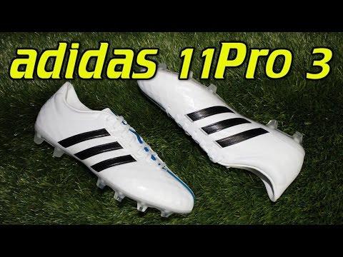 Adidas 11Pro 3 (2015) White/Black/Solar Blue - Review + On Feet