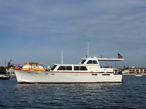 Motor Yacht Santa Barbara 51 Motoryachtvideo