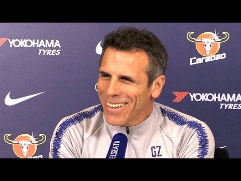 Gianfranco Zola Pre-Match Press Conference – Chelsea v Bournemouth – Carabao Cup Quarter-Final