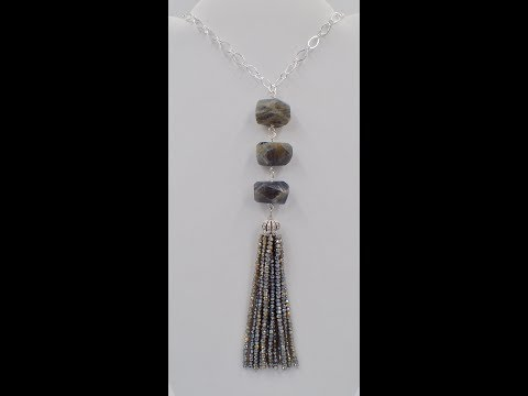 Chunky Gemstone Tassel Necklace – Must Know Monday 1/8/18
