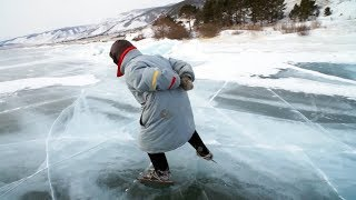 Baba Luba - bajkalska łyżwiarka