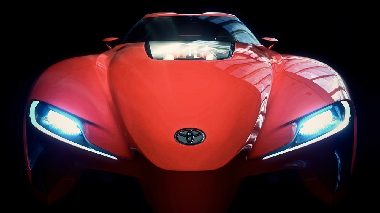 Drive the Toyota FT-1 Concept Coupe in Gran Turismo 6