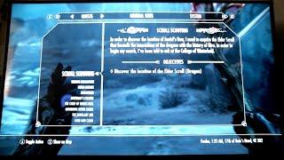 Scroll Scouting - Dawnguard DLC Mod - Skyrim Special Edition - Dragon Elder Scroll Location