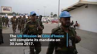UN mission in Côte d