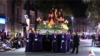 preview picture of video 'Procesión del Miercoles Santo 2014 Aspe'
