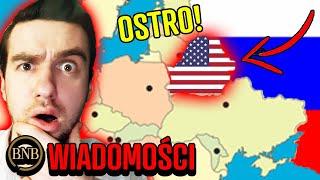 USA ODPOWIADA Rosji! NATO WKRACZA do Białorusi | WIADOMOŚCI