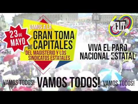 Video promo: Vamos a las tomas de capitales – 23 de Mayo de 2017
