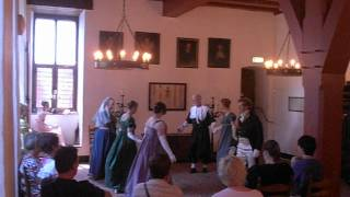 preview picture of video 'Wolves'Grove Regency Dancers dance Upon a Summers'Day'
