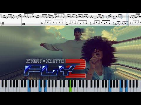 Zivert x NILETTO - Fly 2 (на пианино + ноты и midi)