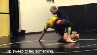 No gi training at Jeremy Horn