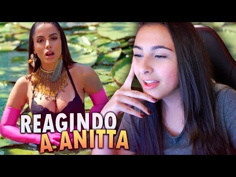REAGINDO A IS THAT FOR ME - ANITTA & ALESSO
