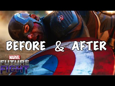 CAPTAIN AMERICA + MJOLNIR = GOD ??? (AVENGERS ENDGAME) | Marvel Future Fight