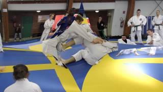 Stage de ju-jitsu avec Myram Rahali & Percy Kunsa à Calais