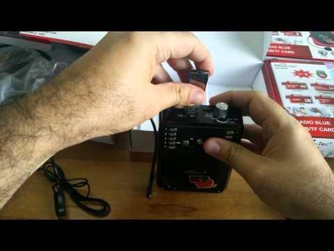 Parlante Amplificador Portable N@NOTEC NT P226