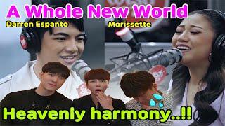 "[EP.9] What if Korean vocal coaches listen to the Morissette&Darren Espanto of ""A Whole New World""?"