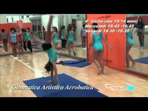 Preview video  Lezione di Ginnastica Artistica Acrobatica