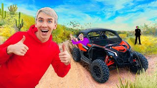 SEARCHING for SECRET AGENT CODE to STOP MYSTEY NEIGHBOR in OFF-ROAD SPY MACHINE!!!