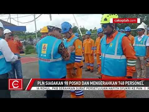 Amankan Listrik saat Nataru, PLN Riau Siagakan 98 Posko dan 748 Personel