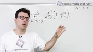Úprava algebraických výrazů - příklad 1