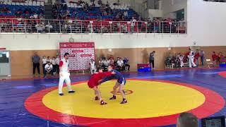 Первенство России по самбо до 14 лет 46 кг. финал Фиданян СКФО - Колонтай ЦФО