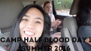 CAMP HALF-BLOOD AUSTIN DAY 1 | SUMMER 2K16