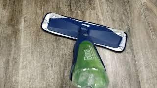 BONA PREMIUM SPRAY MOP FLOOR CLEANER - CLEANING LUXURY VINYL PLANK LVP