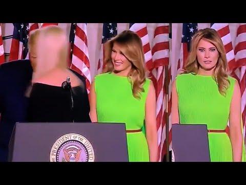 Melania Trump Rolls Her Eyes At Daughter Ivanka Trump & Throws Shade At Her At RNC