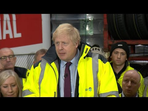 Campaign Live: Boris Johnson delivers speech in the North East of England | ITV News