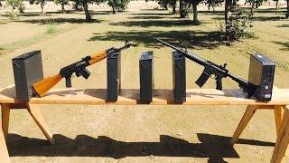 AR15 VS AK47 VS PC  556 VS 762