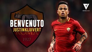 Justin Kluivert   Welcome To AS Roma (OFFICIAL✅) ● Crazy Skills, Assists & Goals ● 2018 [HD]