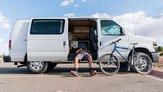 Ambassador Justin Fricke aka The Weekend Warrior is living that van life