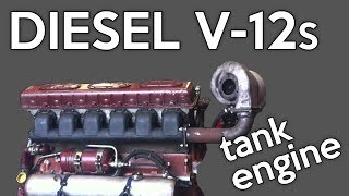 10 Cool Diesel V-12 Engines You May Not Know About