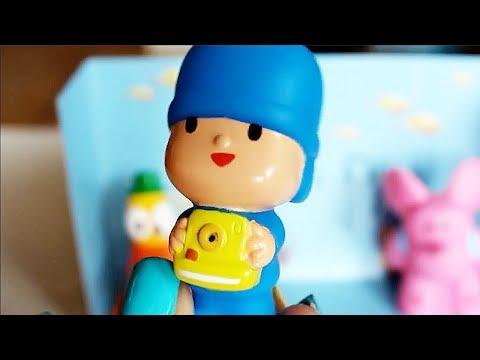 Pocoyo - I pupazzetti per il bagno [Apertura Gioco]
