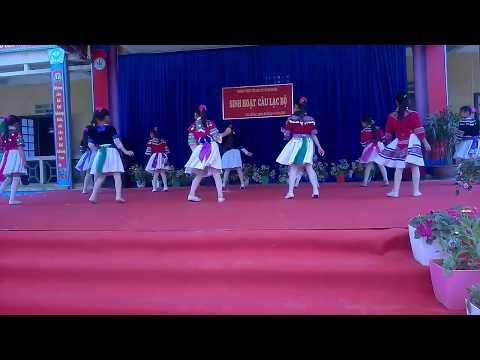 Học sinh nhảy dân vũ cực đẹp