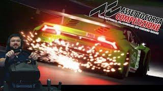 Новая Assetto Corsa Competizione - ВПЕЧАТЛЯЕТ! Чувствуется потенциал, но пока сыро!