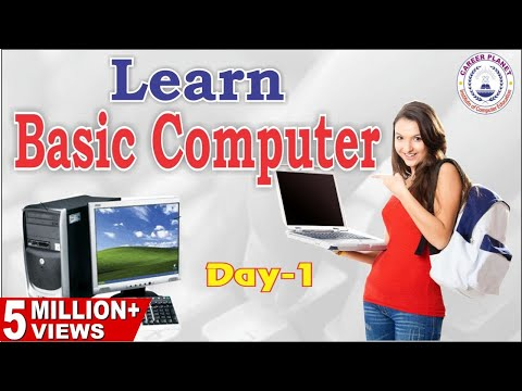 Learn Basic Computer in Hindi-Day 1|Basic Computer Skills for All ...