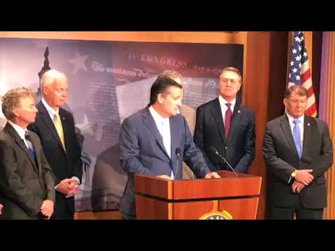 Sen. Cruz Participates in Press Conference on the Senate Rescissions Package - June 19, 2018