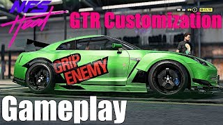 Need For Speed Heat: Nissan GTR FULL CUSTOMIZATION GAMEPLAY!! Exhaust Tuning, & MORE!