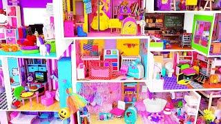 DIY 4 CARDBOARD HOUSES ; DIY Doll House