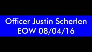 Officer Justin Scherlen Escort
