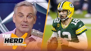 Colin Cowherd reacts to Aaron Rodgers showing up to training camp in Green Bay | NFL | THE HERD