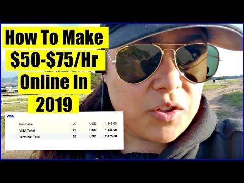 (2019) How To Make Money Online – Get Paid Daily!