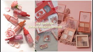 MY TOP 3 FAVORITE KOREAN MAKEUP BRAND 🇰🇷 | Erna Limdaugh