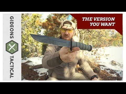 The Best Version: Ka-Bar Fighting/Utility Knife 1211