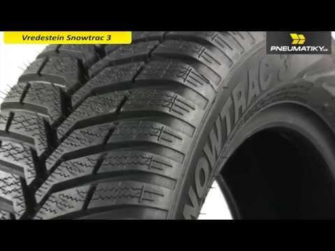Youtube Vredestein Snowtrac 3 175/65 R15 84 T Zimní