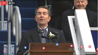 Ralph Northam Inaugural Address (1/13/18)