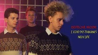 """Depeche Mode TV Show, """"New Life"""" live at Echo des Bananes"""