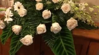 How to make a tribute casket spray
