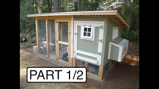 My Chicken Coop:  Design And Build (Part 1/2)